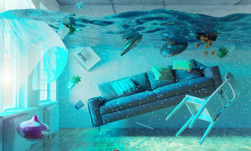 Как оценить повреждение мебели при заливе квартиры