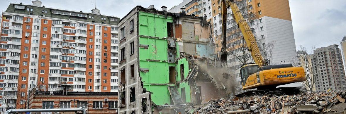Реновация пятиэтажек